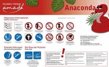 Anaconda - Rutschanleitung