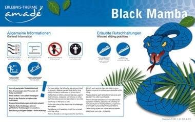Black Mamba - Rutschanleitung