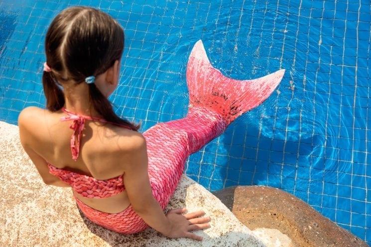 Meerjungfrauen-Schwimmkurs - Kursangebote - Erlebnis-Therme Amadé in Altenmarkt im Pongau
