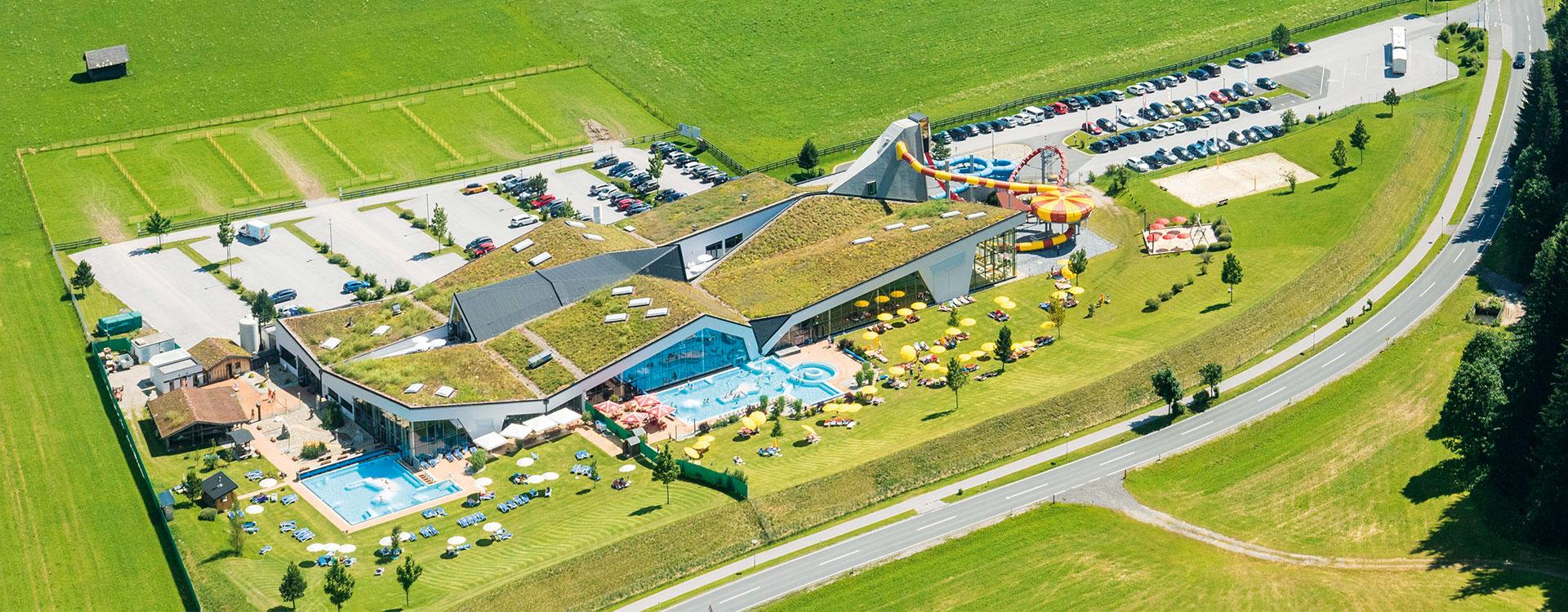 Anreise & Lage - Erlebnis-Therme Amadé in Altenmarkt im Pongau, Salzburger Land