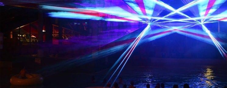 Lasershow - Erlebnis-Therme Amadé in Altenmarkt im Pongau