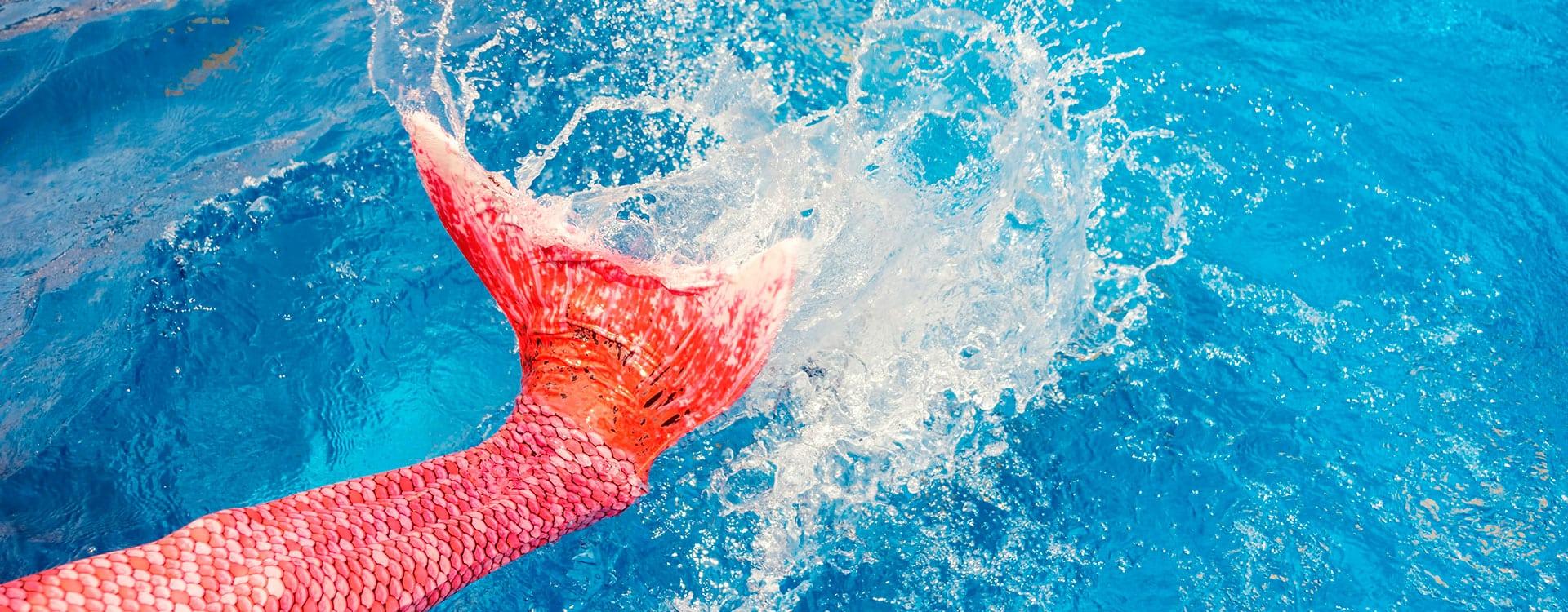 Meerjungfrauen-Schwimmkurs - Erlebnis-Therme Amadé in Altenmarkt im Pongau