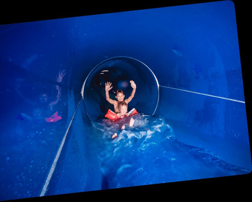 Black Mamba Tunnelrutsche - Erlebnis-Therme Amadé in Altenmarkt im Pongau